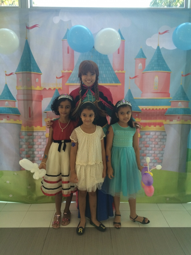 princess theme birthday party singapore