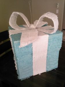 tiffany box pinata