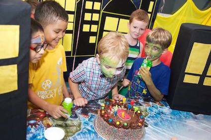 superhero themed birthday party package singapore