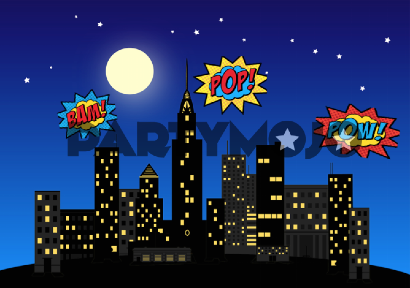 Superhero Themed Birthday Party Package Kids