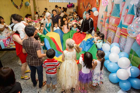 princess themed kids birthday party singapore