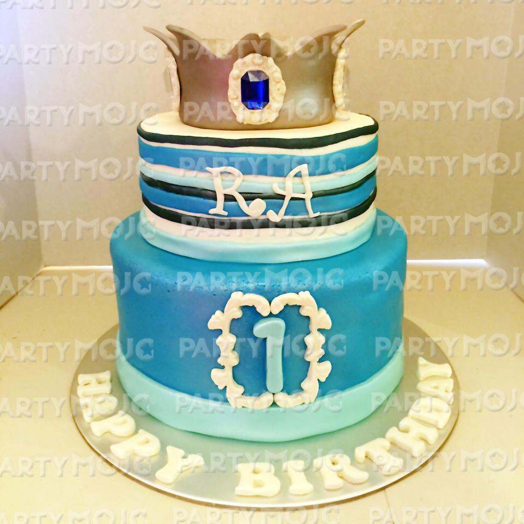 Little prince 1st birthday cake sg