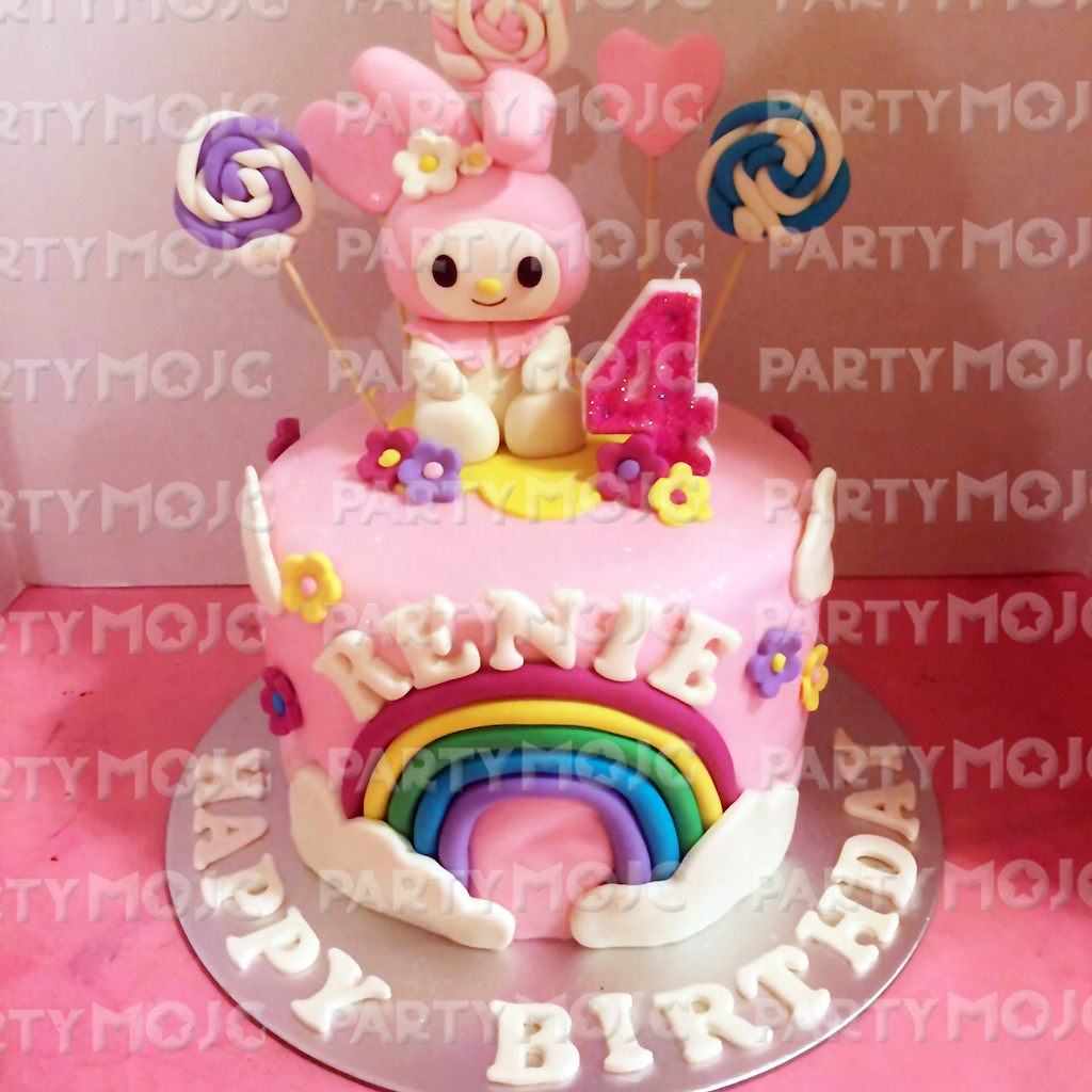Melody Inspired birthday cake singapore