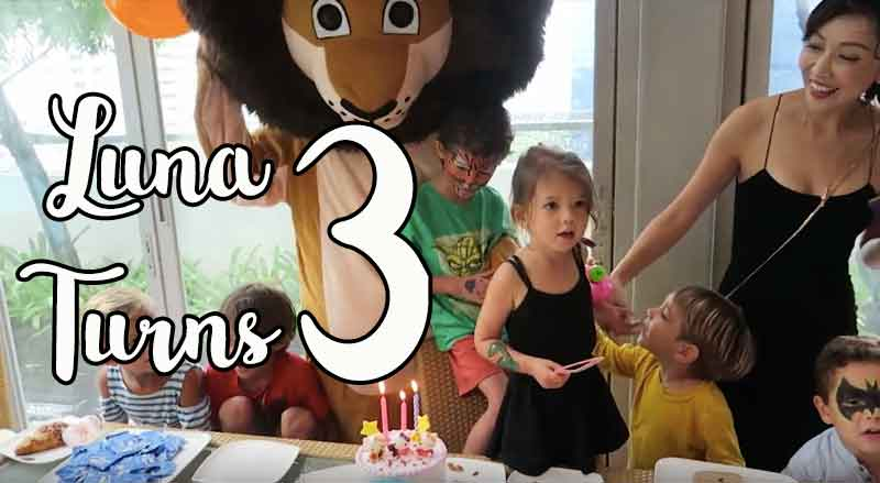 Safari Themed Party – Luna turns 3