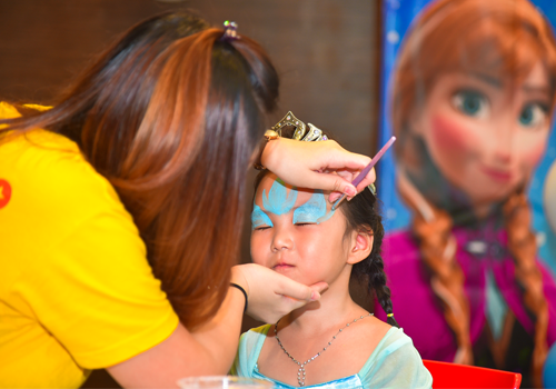 Children Day Face Painting