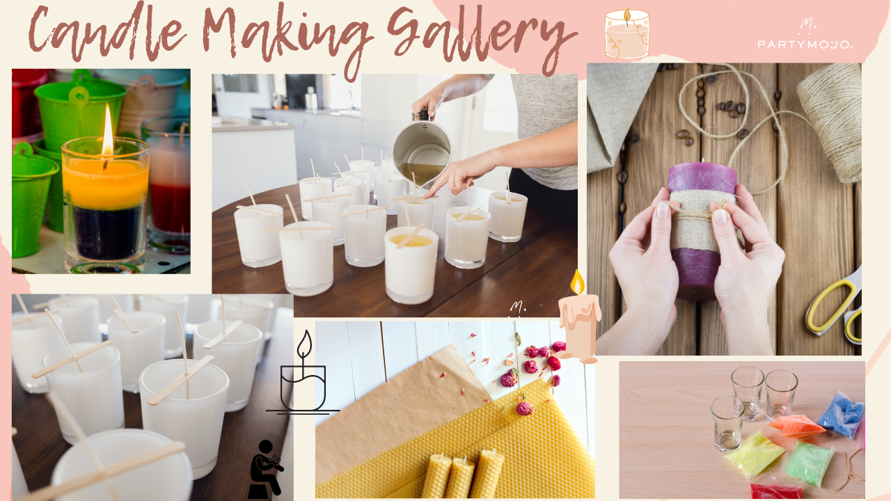 Virtual Candle Making Workshop Gallery