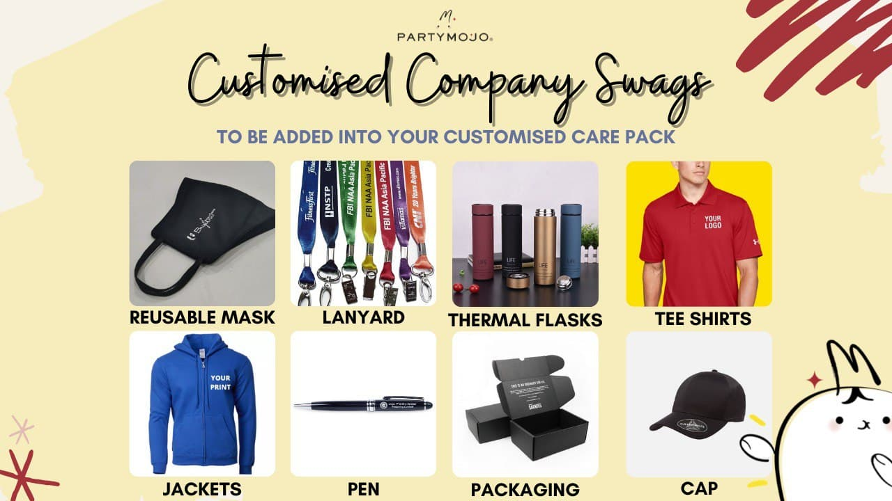customised company swags